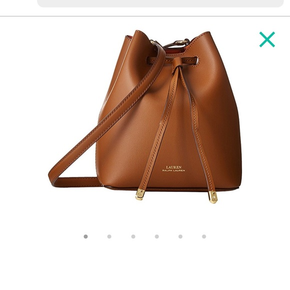 f12f969a7a get ralph lauren mini leather bucket bag 617f9 7673a